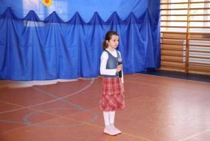 Natalia Ciesielska kl.IIIb-Mam Talent 2010