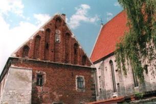 Fragment Domu Długosza i Bazyliki Mniejszej