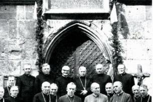 Kardynał Karol Wojtyła w Wiślicy.