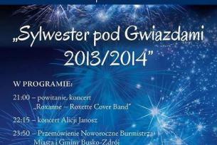 Wydarzenia związane z Buskim Samorządowym Centrum Kultury ~ Sylwester 2013