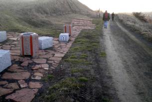Rajd PTTK 2014 - przetarcie szlaku