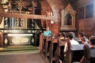 Zwiedzanie Zespołu Cmentarnego pw. św. Leonarda 13.09.2016