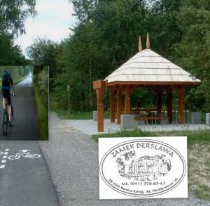 Zamek Dersława - wypożyczalnia rowerów