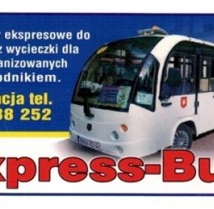 """Przejazdy rekreacyjne """"Ekspress-Busem"""""""