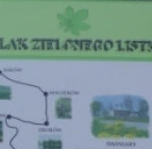 Zielonego Listka wokół Solca-Zdroju