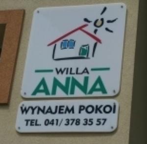 "noclegi ul.Słoneczna  9 ""Willa Anna"""