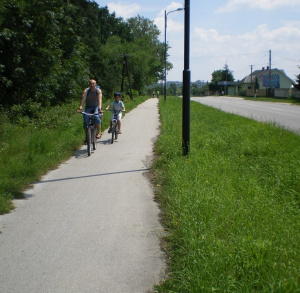 Ścieżka rowerowa i piesza Busko-Radzanów