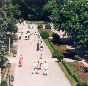 Spacer po Uzdrowisku:Łazienki-Park Zdrojowy-Zdrojowa Starówka