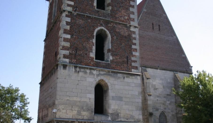 Dzwonnica fundacji Jana Długosza wraz z Bazyliką Mniejszą.