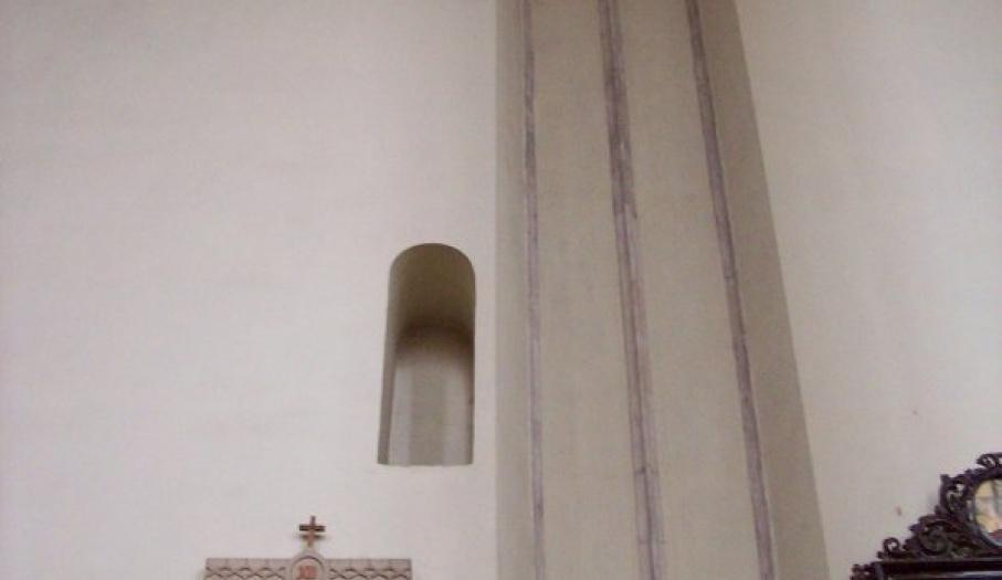 Okienko (dziś wnęka), z którego odczytano Statuty Wiślickie w 1347 r.