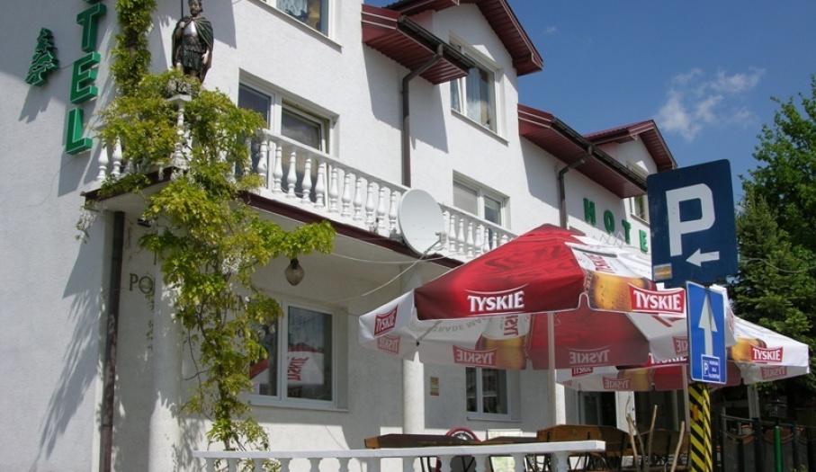 Hotel Pod Świerkiem, widok zewnatrz