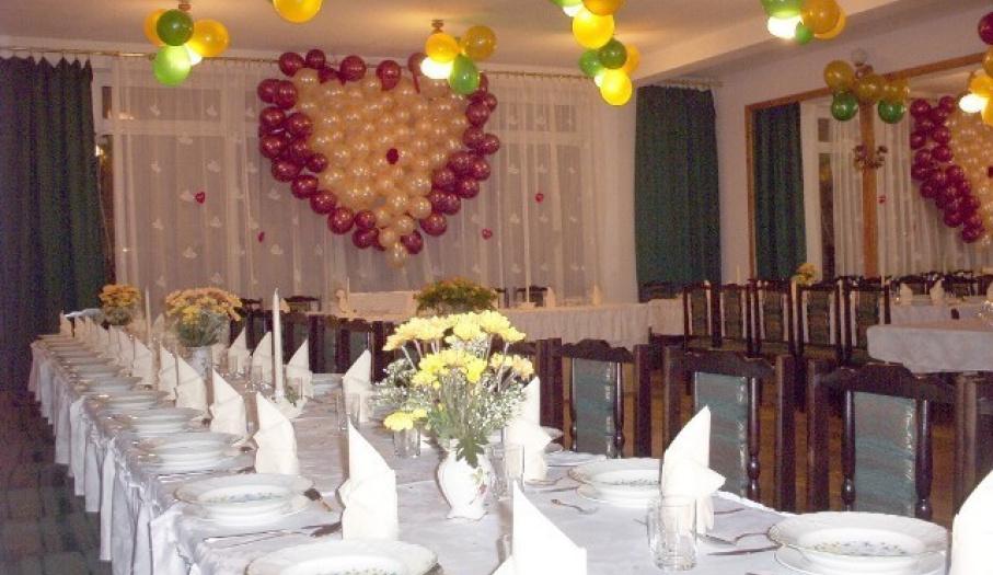 Hotel Pod Świerkiem, sala weselna