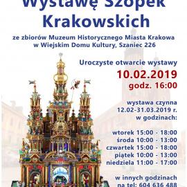 Zapraszamy na Wystawę Szopek Krakowskich