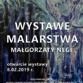 Zapraszamy na wystawę malarstwa Małgorzaty Negi