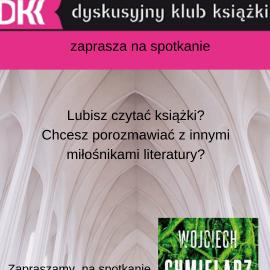 Zapraszamy na spotkanie Dyskusyjnego Klubu Książki