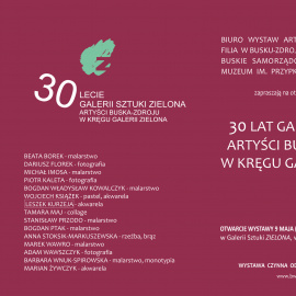 30 LAT GALERII ZIELONA