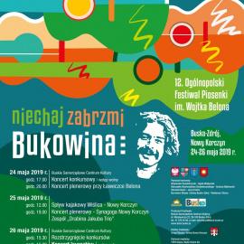 Zapraszamy na XII Ogólnopolski Festiwal Piosenki im. Wojtka Belona