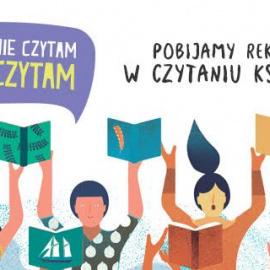 """Zapraszamy do udziału w ogólnopolskiej akcji """"Jak nie czytam, jak czytam"""""""