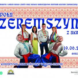 """Zapraszamy na koncert zespołu """"Czeremszyna"""" z Ukrainy"""