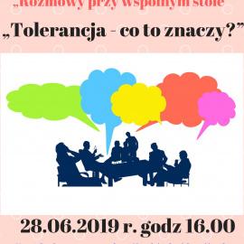 Rozmowy przy wspólnym stole- Tolerancja
