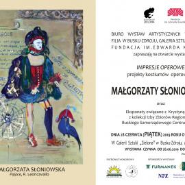 Zapraszamy na wystawę Małgorzaty Słoniowskiej oraz eksponatów związanych z Krystyną Jamroz