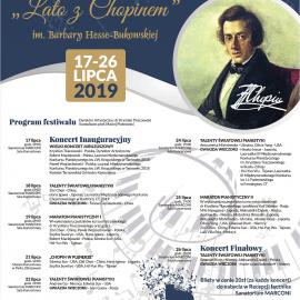 XXV Międzynarodowy Festiwal LATO Z CHOPINEM