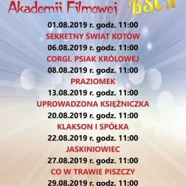 Letnia Akademia Filmowa- Sierpień
