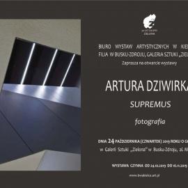 Zapraszamy na otwarcie wystawy Artura Dziwirka