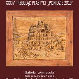 """Zapraszamy na XXXIV Przegląd Plastyki """"Ponidzie 2019"""""""