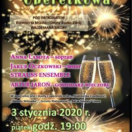 Noworoczna Gala Operetkowa w BSCK