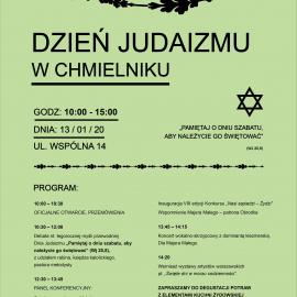 Obchody Dnia Judaizmu w Chmielniku