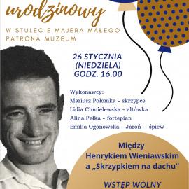 """Od Wieniawskiego po """"Skrzypka na dachu"""""""