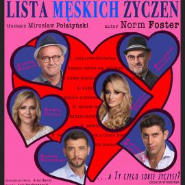 """Spektakl """"Lista męskich życzeń"""" w BSCK"""