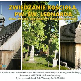 Zwiedzanie kościoła pw. św. Leonarda