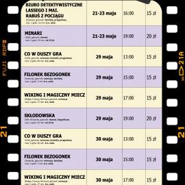 Terminarz kina na maj 2021
