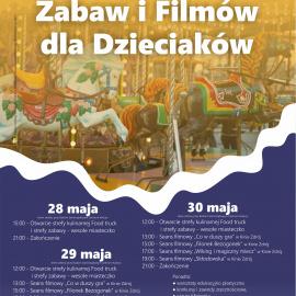 Festiwal smaków, zabaw i filmów dla dzieciaków