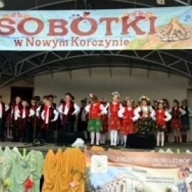 Sobótkami Powitano Lato w Nowym Korczynie