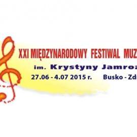XXI Międzynarodowy Festiwal Muzyczny im. Krystyny Jamroz