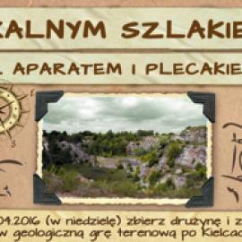 Gra Terenowa po Atrakcjach Geologicznych Kielc