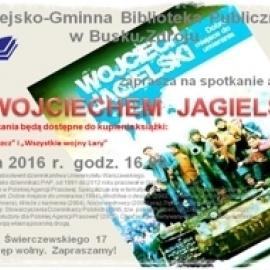 Spotkanie z Wojciechem Jagielskim w Bibliotece Publicznej