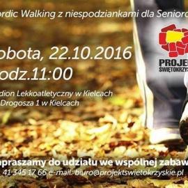 Nordic Walking z Niespodziankami dla Seniorów w Kielcach