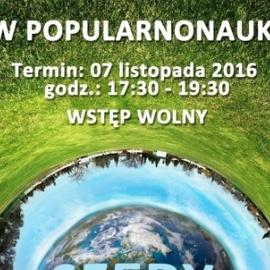 SHOW POPULARNONAUKOWE W CENTRUM GEOEDUKACJI